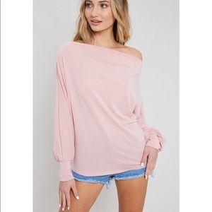 Tops - NEW! Blush Long Sleeve Top!